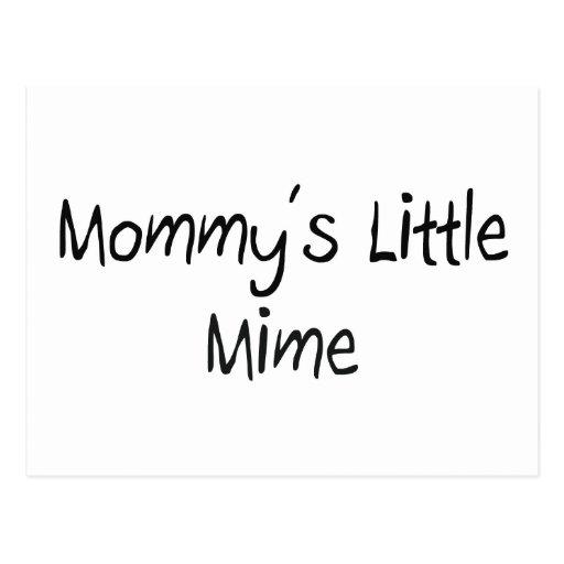 Pequeño Mime de Mommys Postales