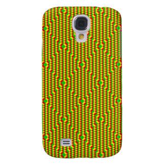 Pequeño modelo de Rasta de los cuadrados Samsung Galaxy S4 Cover