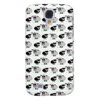 Pequeño modelo lindo de las ovejas grises y negras funda samsung s4