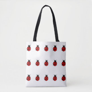 Pequeño modelo rojo dulce y adorable de las bolsa de tela
