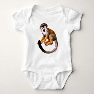 Pequeño mono body para bebé
