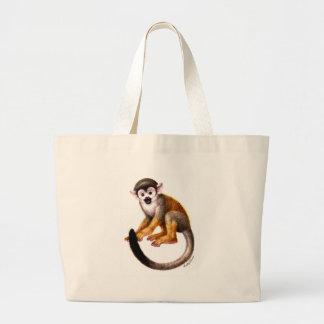 Pequeño mono bolsa