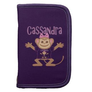 Pequeño mono Cassandra Organizadores