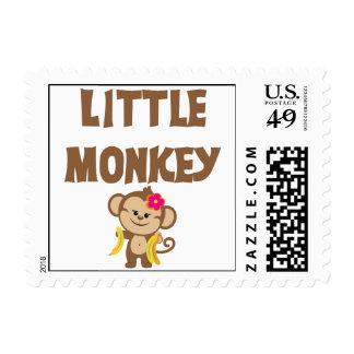Pequeño mono (chica) sello