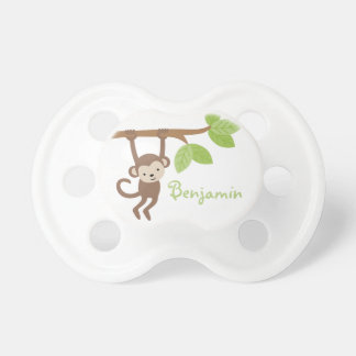 Pequeño mono chupetes de bebé