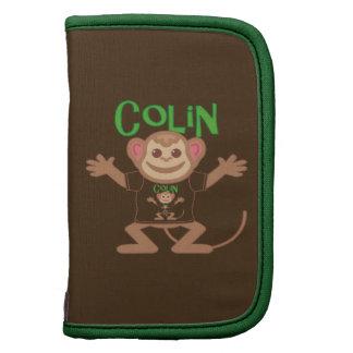 Pequeño mono Colin Organizadores