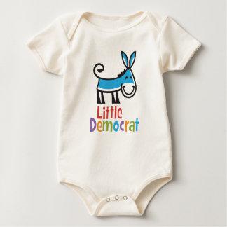 Pequeño mono de Demócrata Body Para Bebé