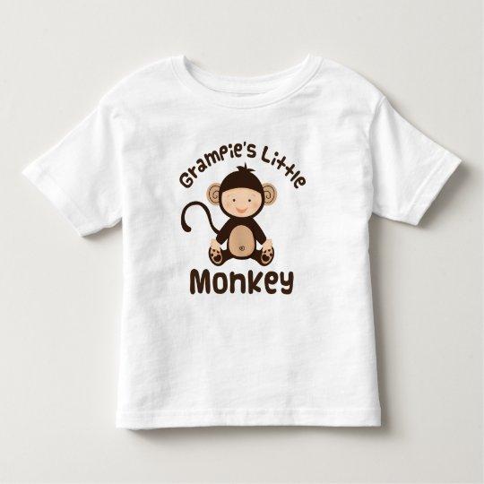 Pequeño mono de Grampies Playera De Bebé
