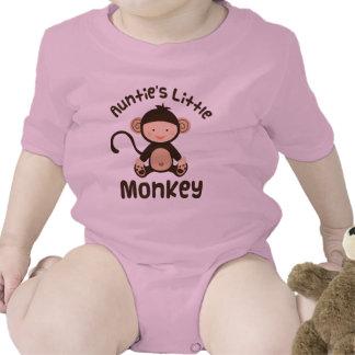 Pequeño mono de las tías trajes de bebé