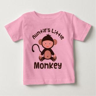 Pequeño mono de las tías t shirt