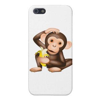 Pequeño mono iPhone 5 fundas