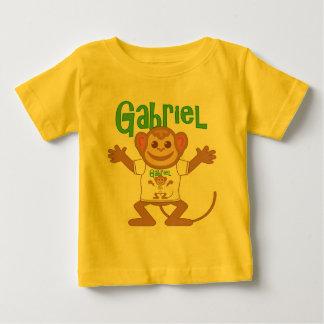 Pequeño mono Gabriel Playera De Bebé