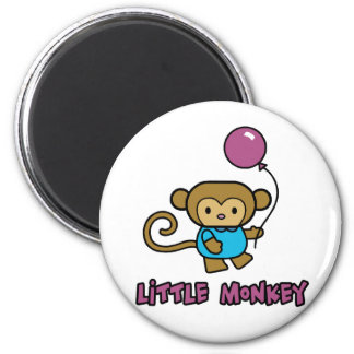 Pequeño mono imanes de nevera