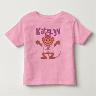 Pequeño mono Katelyn Playera De Bebé