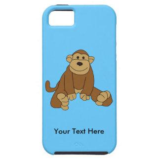 Pequeño mono lindo iPhone 5 carcasa