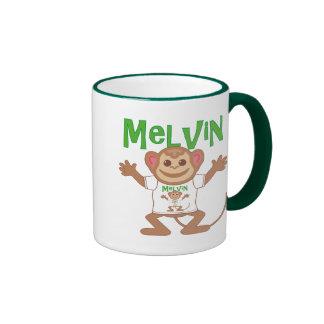 Pequeño mono Melvin Taza De Dos Colores