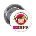 Pequeño mono que va a ser una hermana grande pin