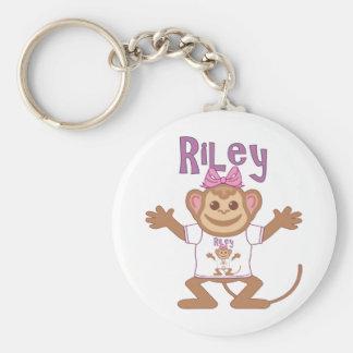 Pequeño mono Riley Llavero