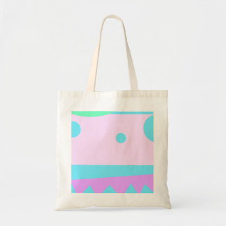 Pequeño monstruo abstracto - bolsa tela barata