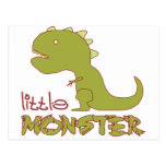 Pequeño monstruo - adaptable postal