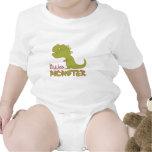 Pequeño monstruo - adaptable traje de bebé
