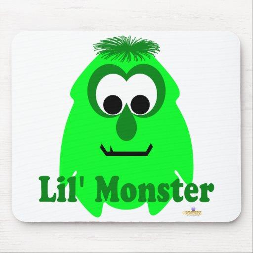 Pequeño monstruo de Lena Lil del Limey del monstru Tapetes De Ratones