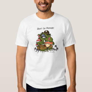 Pequeño monstruo malhumorado por el sedero Mayer Camisas