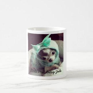 Pequeño ms Bitsy Jade, taza de café