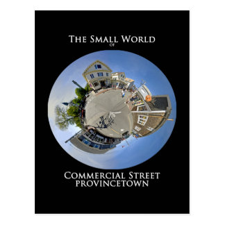 Pequeño mundo de la calle comercial Provincetown Postal