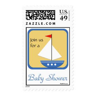 Pequeño navegador - sello