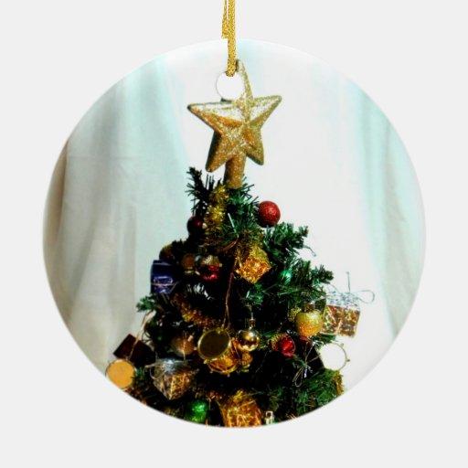 Pequeño navidad ornamento para reyes magos