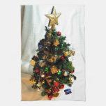 Pequeño navidad toalla