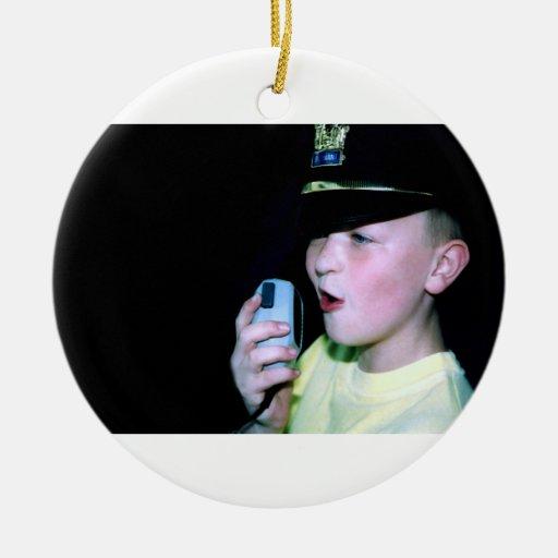 Pequeño ornamento del oficial 6 adornos de navidad