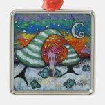 Pequeño ornamento feliz del navidad del invierno ornamento para reyes magos