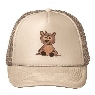 Pequeño oso Cub gruñón Gorra