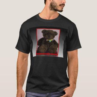 Pequeño oso de peluche de Brown Playera