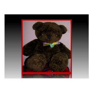 Pequeño oso de peluche de Brown Tarjetas Postales