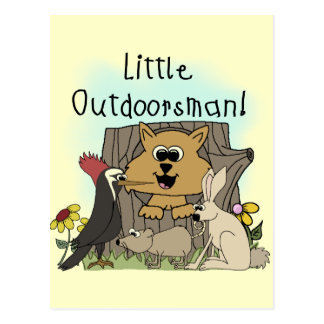 Pequeño Outdoorsman Postal