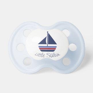 Pequeño pacificador del velero del bebé del marine chupetes de bebe