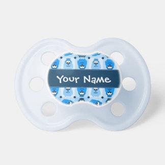 Pequeño pacificador personalizado del modelo del m chupetes de bebé