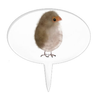 Pequeño pájaro divertido figuras de tarta