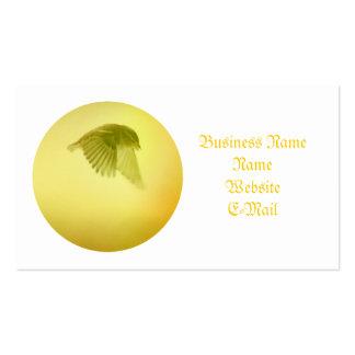 Pequeño pájaro elegante tarjetas de visita