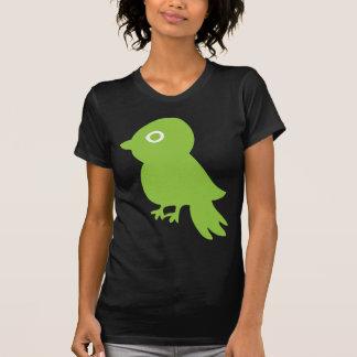 Pequeño pájaro retro camisetas