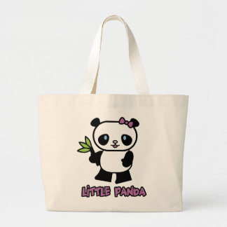 Pequeño panda bolsa