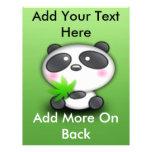 Pequeño panda Cub Flyer A Todo Color