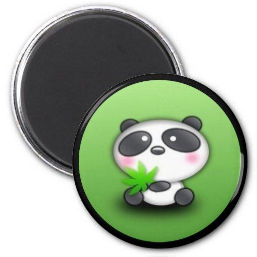 Pequeño panda Cub Imán Para Frigorifico