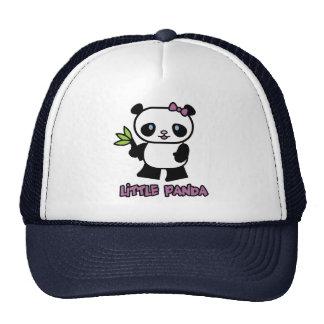 Pequeño panda gorros bordados