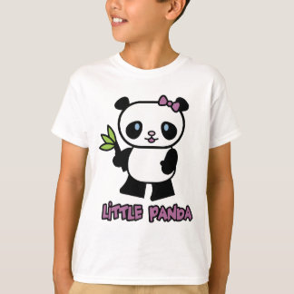 Pequeño panda playeras