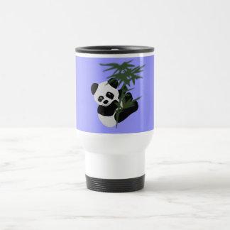 Pequeño panda taza de viaje