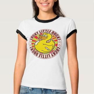 Pequeño pato afortunado camisetas